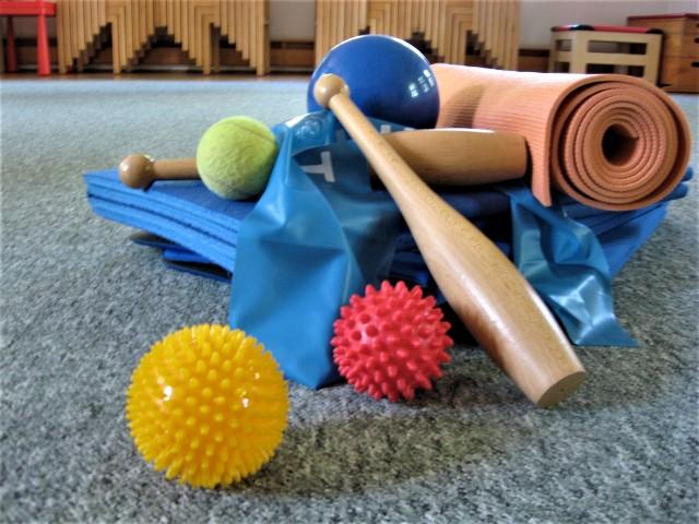 Geräte beim Mama-Sport