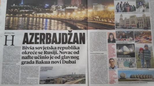 Vecernji list Azerbajdžan