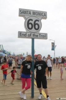 Route 66 - Kalifornija - Kraj - Santa Monica Pier