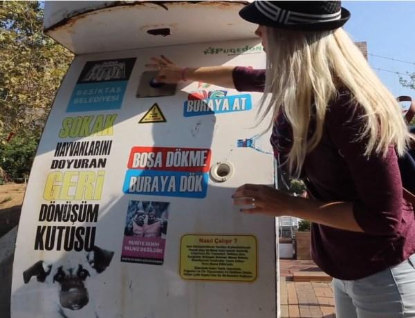 Istanbul – automat koji hrani napuštene peseke