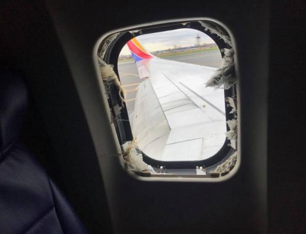 Eksplodirao motor – putnica skoro isisana iz aviona