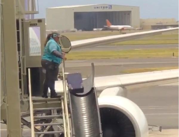 VIDEO: Evo zašto nekada dobijemo razbijenu putnu torbu