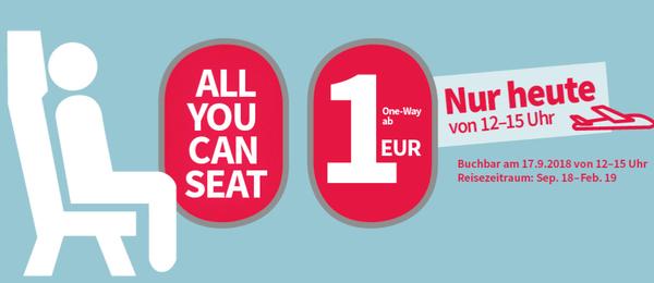 Akcija Laudamotiona i Ryanaira – Aviokarte za samo 1€
