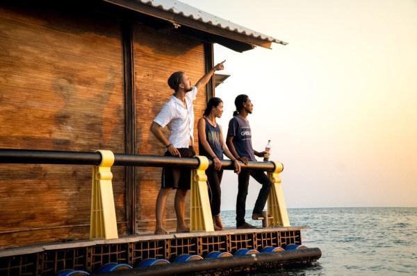 Bali – plutajuća kućica usred oceana
