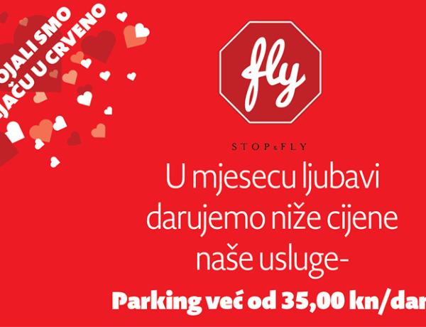 Akcija!! Parking kod zračne luke Zagreb