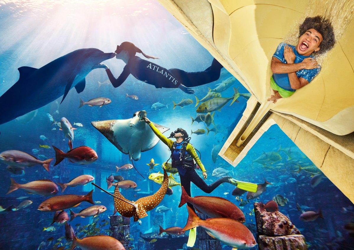 Putnicima Emiratesa besplatan posjet vodenom parku i akvariju u Dubaiju