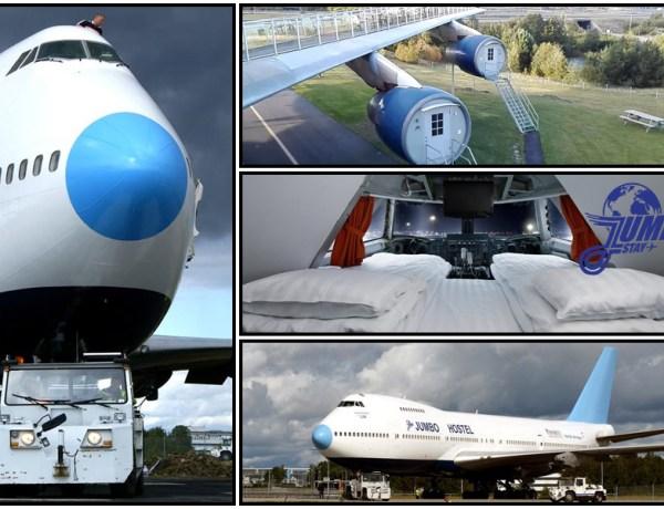 STF Jumbo Stay – Smještaj za ovisnike o avionima