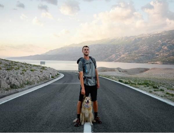 Sa psom je prešetao 28.000 kilometara, posjetili su 37 država