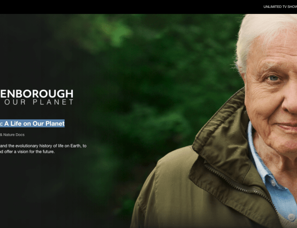 "PREPORUKA: dokumentarni film ""A life on our planet"" by David Attenborough"