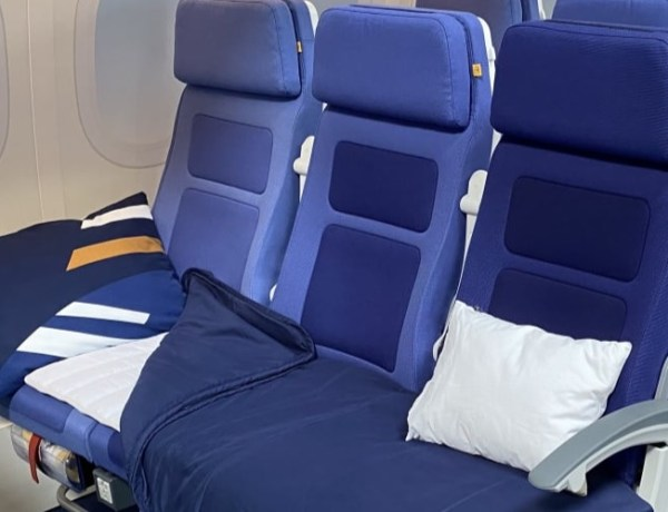 """Lufthansa testira iskustvo """"Sleeper's Row"""" u ekonomskoj klasi"""