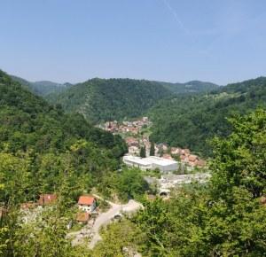 Pogled sa starog grada - Samobor