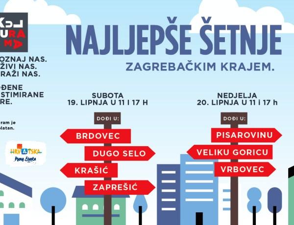 Istraži i doživi zagrebački kraj kroz vođene tematske ture – pronađi svoju KulTuramu