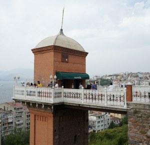 Izmir, Asansor, najbolji pogled na grad.