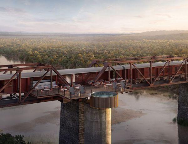 Kruger Shalati – luksuzni vlak na mostu