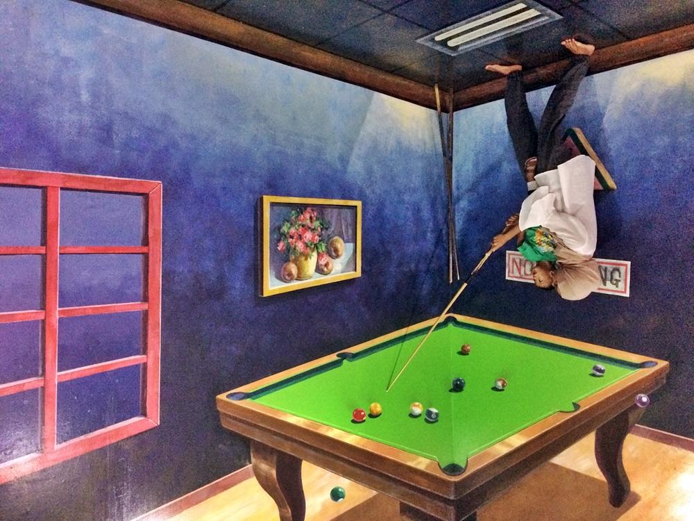 Menikmati Seni Ilusi 3D di Dream Museum Zone Bali