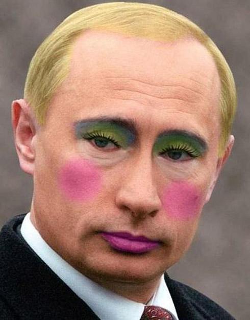 Photoshop: Políticos Famosos Com Maquiagem