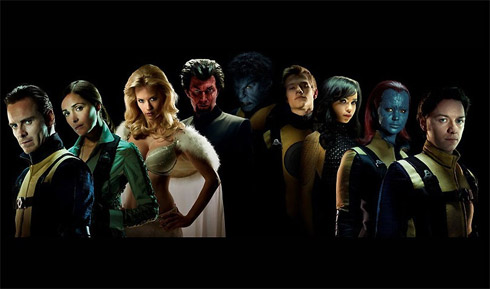 Filme X-Men First Class: Fotos Divulgadas