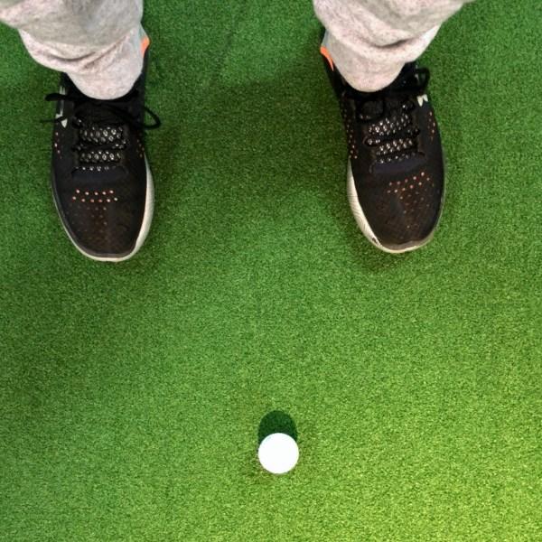 ボール位置を確認する上での注意点