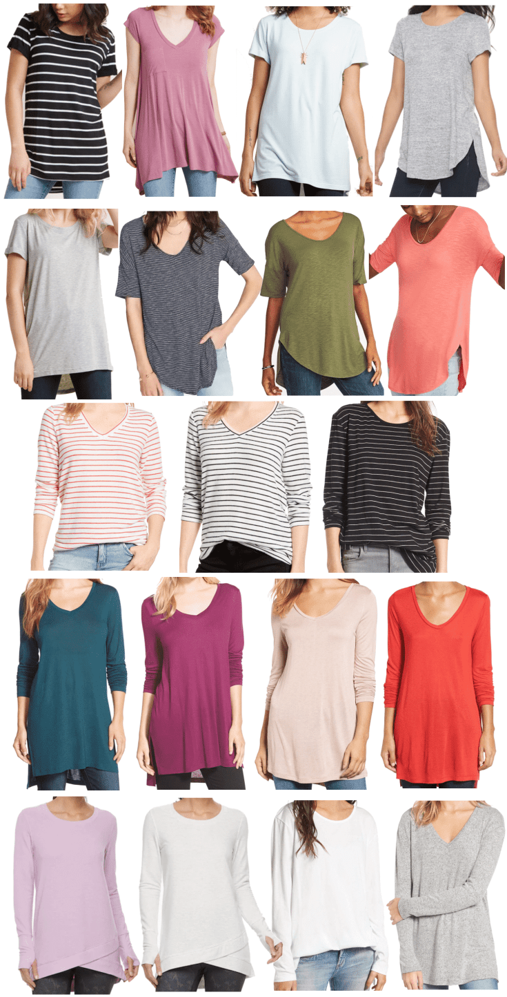 Long Tops to Wear With Leggings in the Spring