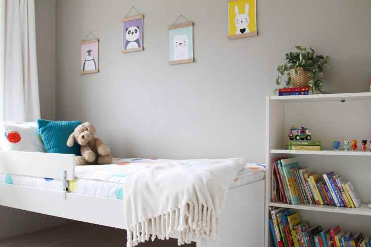 Little Girl Room: Beddy's Bedding + Wall Art