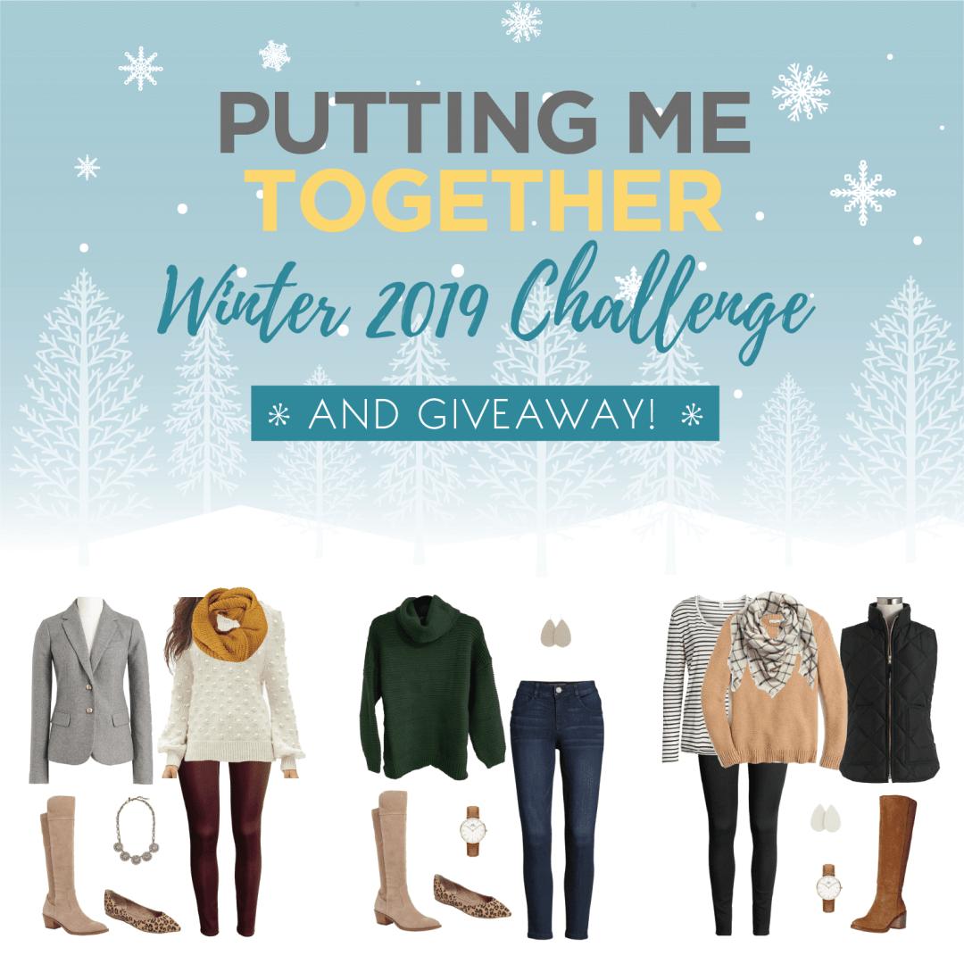 PMT Winter Challenge Giveaway