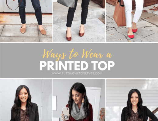 6 Ways to Wear a Printed Top