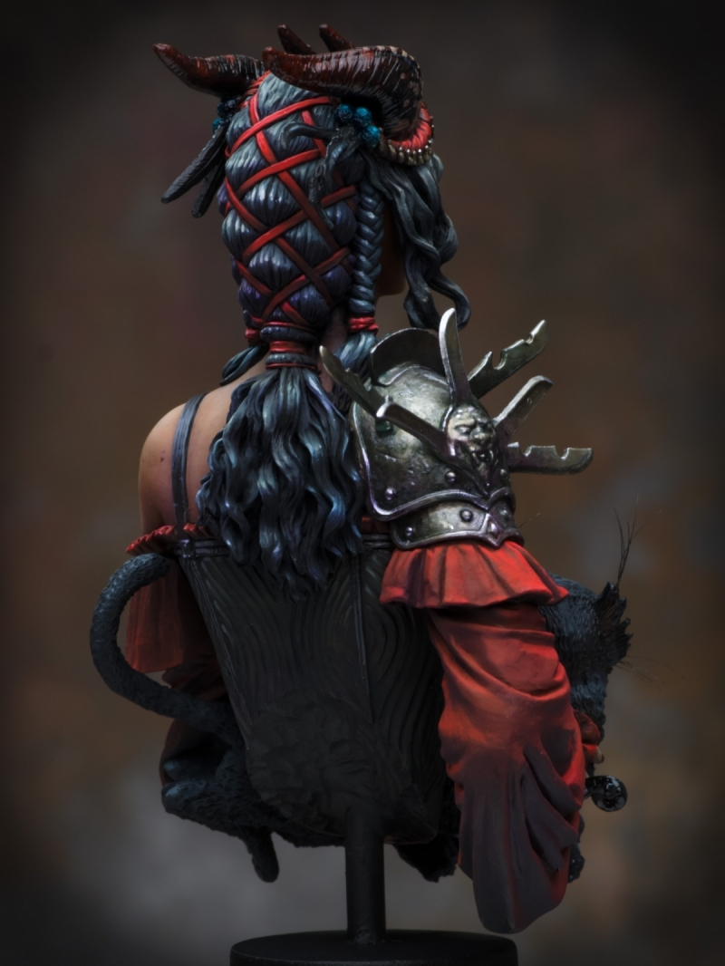 Portrait Of A Young Tiefling By Raffaele Picca 183 Putty Amp Paint