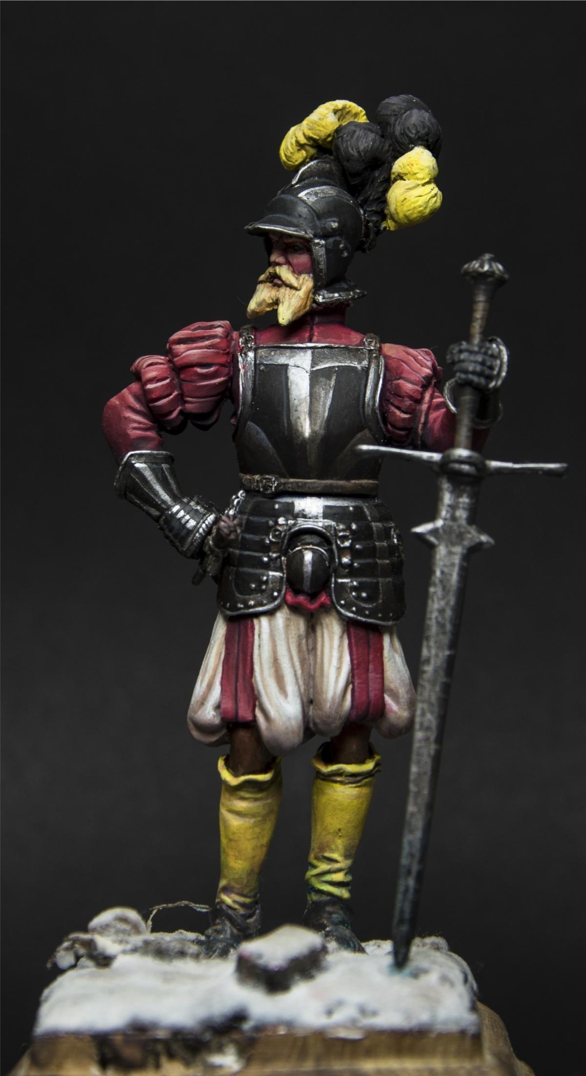 Landsknecht Doppelsoldner 1550 By Vincenzo Geo Alberici
