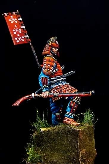 Samurai Ashigaru Commander By Costas Rodopoulos 183 Putty Amp Paint