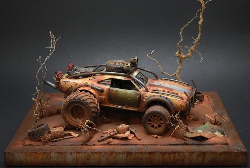 Mad Max Dodge Charger By Andrew Schaffert 183 Putty Amp Paint