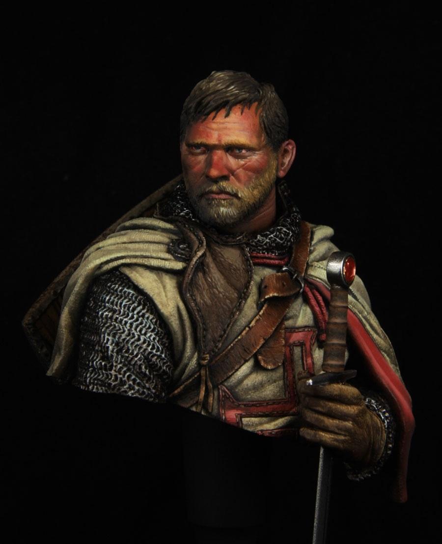 Crusader Knight By Kirill Kanaev PuttyampPaint