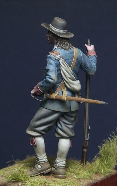Musketeer English Civil War By Davidzabrocki 183 Putty Amp Paint