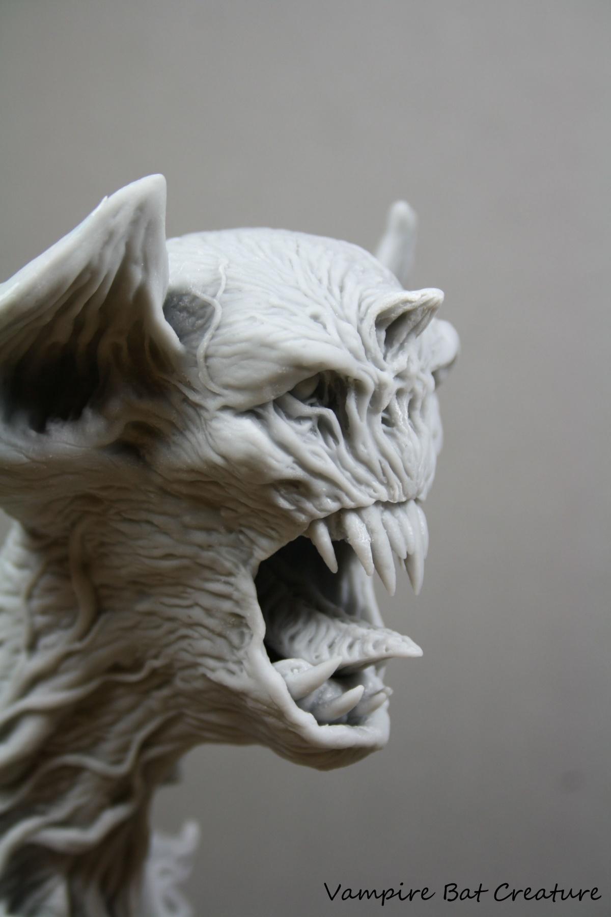 Vampire Bat Creature By George Tsougkouzidis 183 Putty Amp Paint