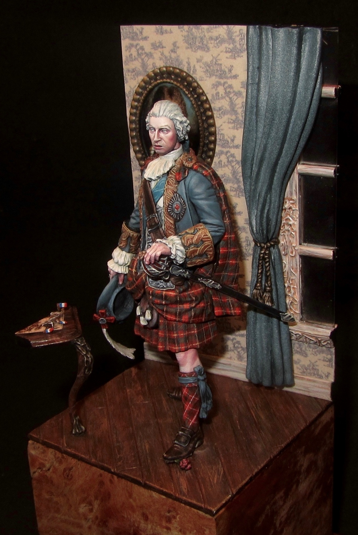 Bonnie Prince Charlie By Aythami Alonso Torrent PuttyampPaint