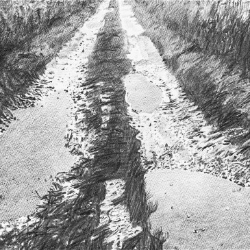 Stanley Donwood's 'Way Out'
