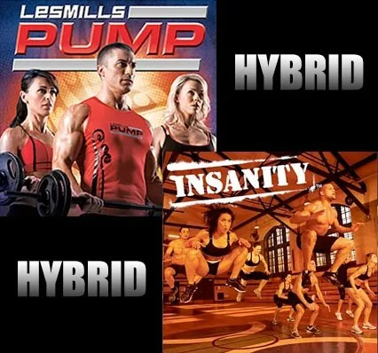Les Mills Pump Insanity Workout Hybrid