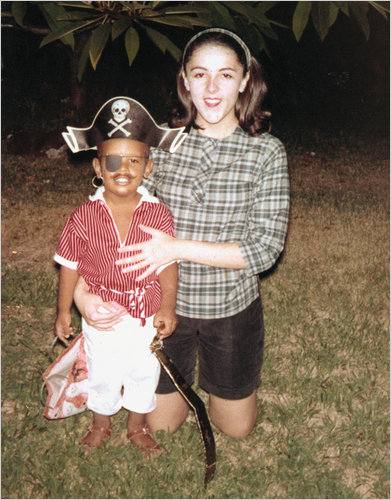 Barack Obama e sua mãe