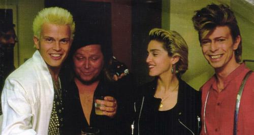 Billy Idol - Sam Kinison Madonna e David Bowie