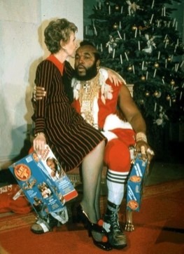 Nancy Reagan e Mr. T