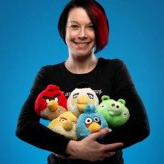 Pelúcia Angry Birds