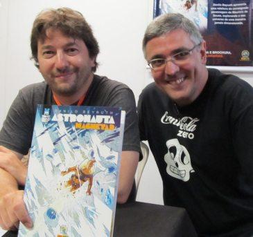 Danilo Beyruth e Sidney Gusma (Planejamento Editorial da MSP)