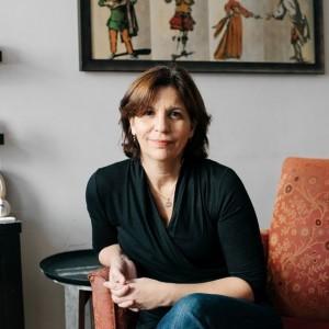 A autora, R. J. Palacio