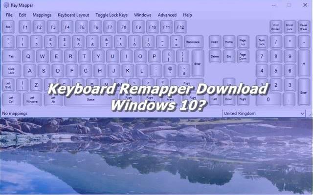 Keyboard Remapper Download Windows 10