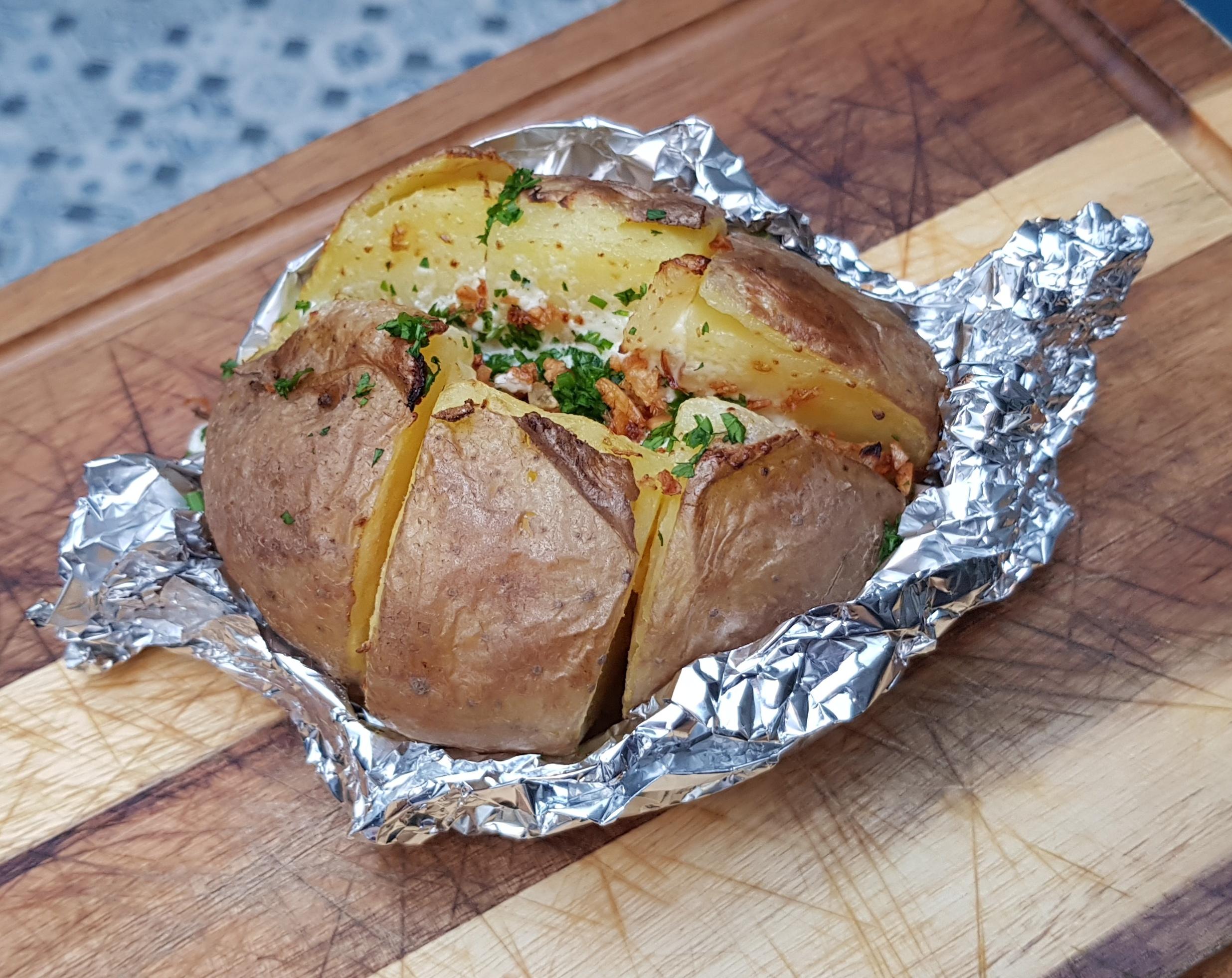 Gegratineerde aardappel