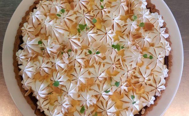 Lemon merengue  taart