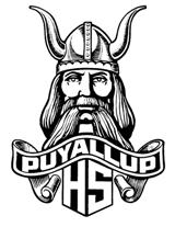 Puyallup Vikings standard logo for the school.