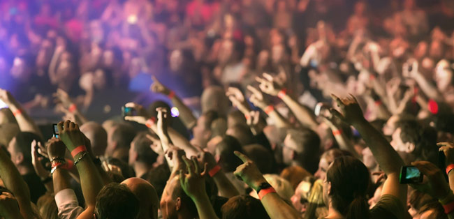 Music Fans in Puyallup