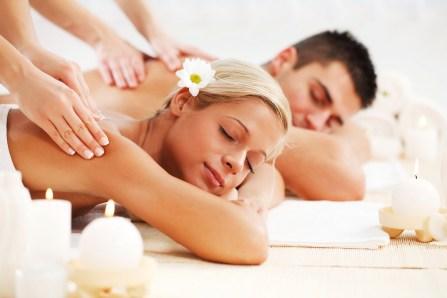 Valentine's Day couples massage