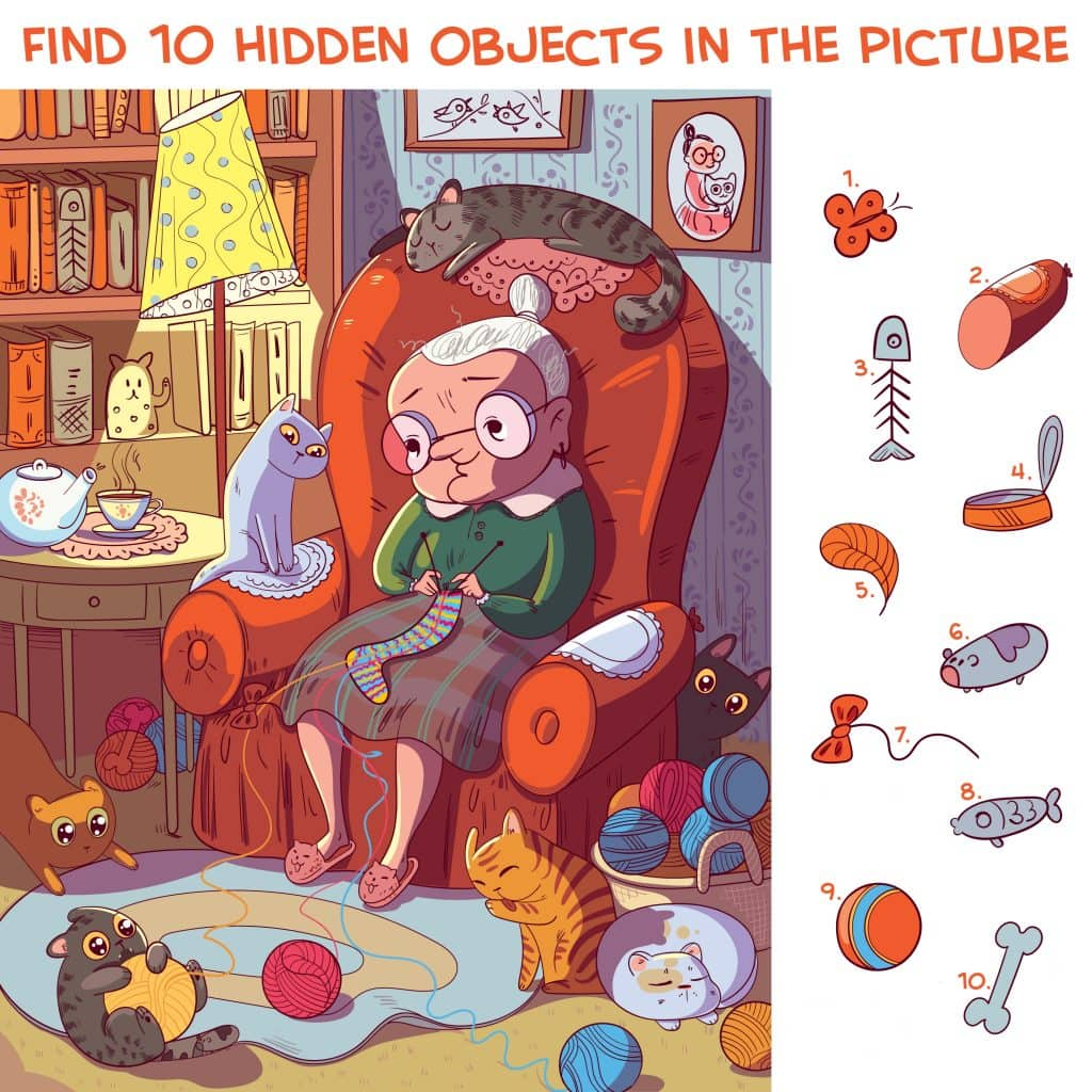Hidden Objects Pets