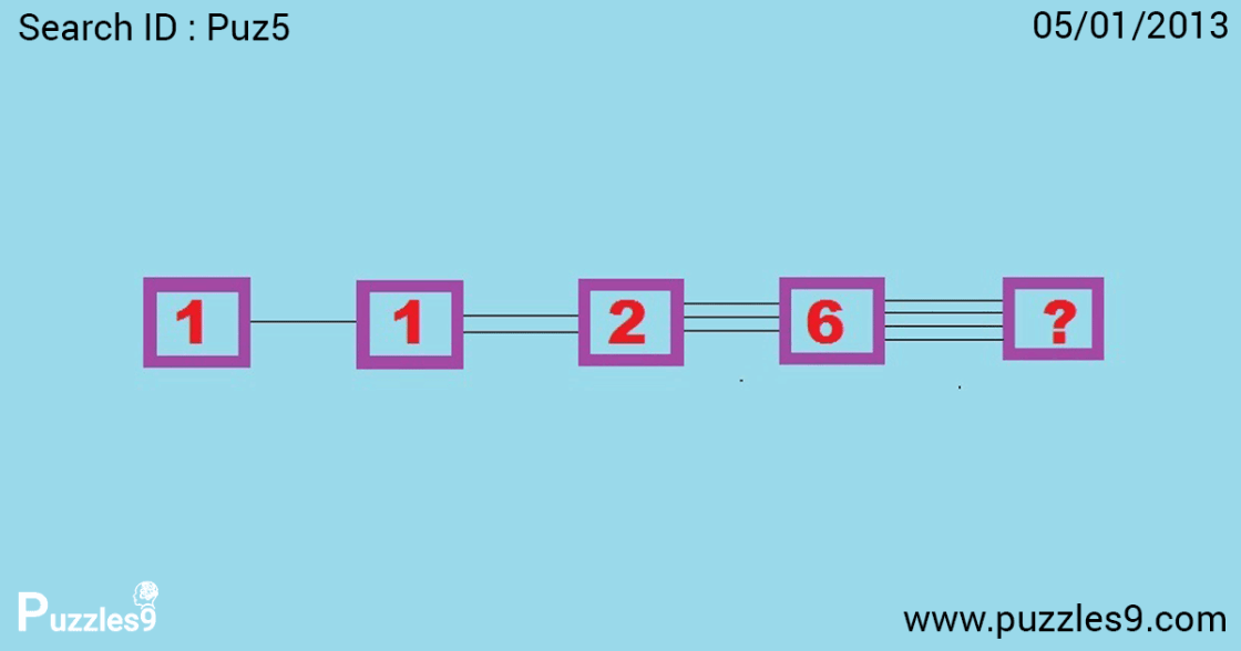 Can you find next number in sequence: Number Sequence Puzzles | puz5